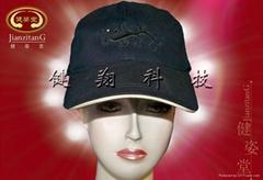磁疗保健帽子|日韩磁疗保健帽订单