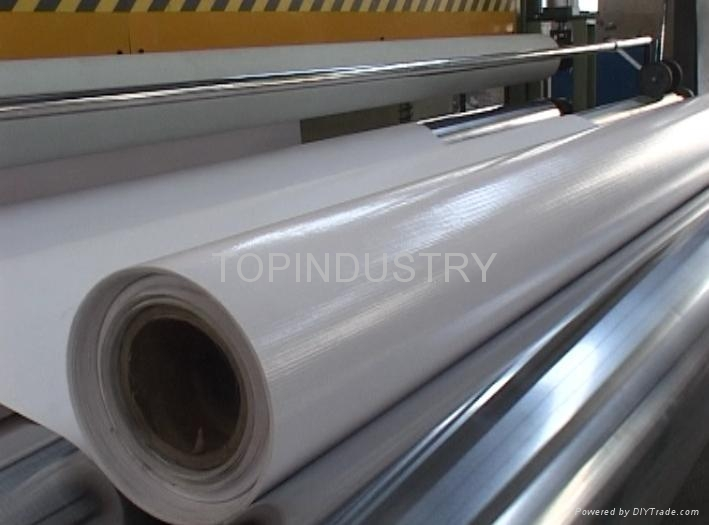 PVC banner flex production line