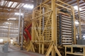 30000m3/year wood and bagasse particle board line