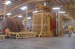 10000m3/year Bagasse PB board production line