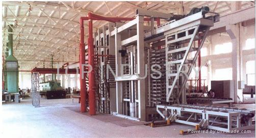 Hpl(high pressure laminate board)production line