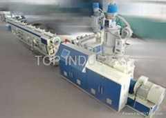 PVC core layer foam pipe production line