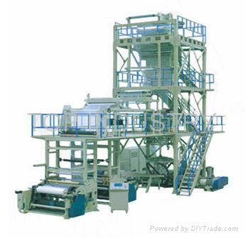 Three To Seven Layer Co-extruding Rotation Blown Film Production Line