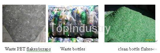 PET Bottle,Flake, Scrap Recycling Line