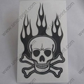 Skull Helmet Sticker/Decal (UV Varnish)