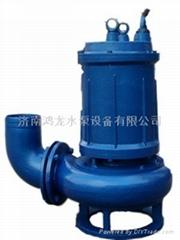 无堵塞高效潜水排污泵