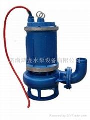 自动搅拌耐高温潜水排污泵