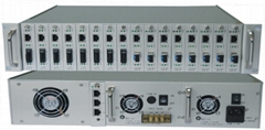 Media Converter Chassis Network