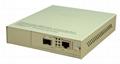 fiber media converter with SFP