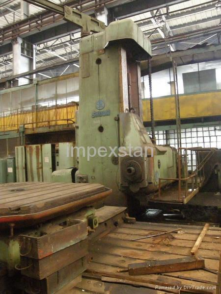 Floor Type Horizontal Boring Machine Skoda Wd 160 A