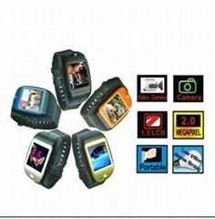 camera ipod silicone watch