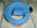 Fishing rod braided sleeving