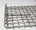 crimpled griddle square wire mesh
