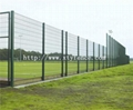 welded double wire mesh panel fencing