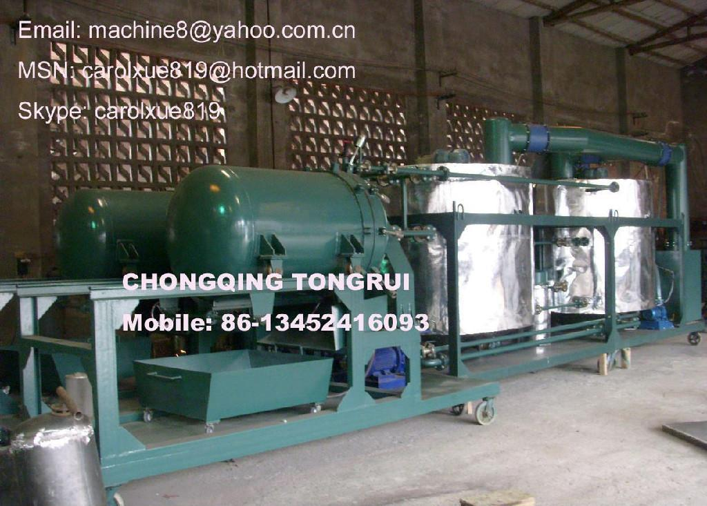 Used engine motor car oil recycling machine nry for Used motor oil recycling