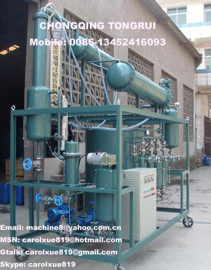Waste Engine Oil Crude Oil Distillation Equipment Dir Tongray China Manufacturer Pumps