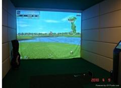 供應10款高級模擬高爾夫系統