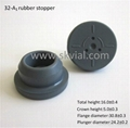 32mm butyl rubber stopper for infusion