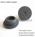 32mm bromobutyl rubber stopper ISO