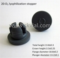 20mm lyophilization rubber stopper 1