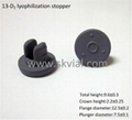 13mm freeze dry rubber stopper