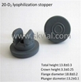 20mm lyophilization stopper with two