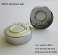 32mm aluminum seal cap for infusion