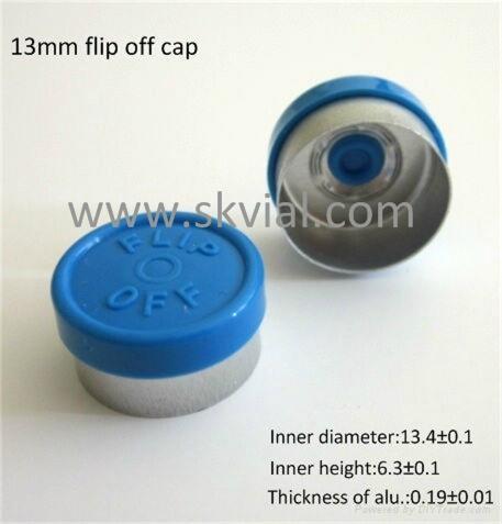 13mm flip off vial seal cap 1