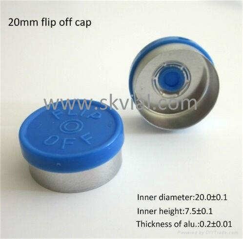 20mm flip off vial seal cap 1