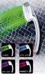 Temperature LED Shower Head 4 Color changing CHT-1109