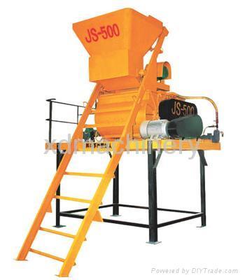 Manufacture of Concrete Mixer (JS-500) 1