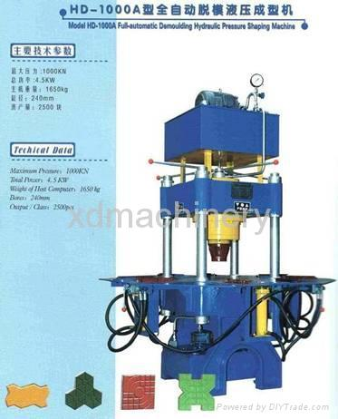 Paving Block Machine (XD-1000) 1