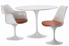Tulip table modern round dining table dining room furniture table set