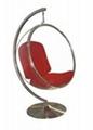 Bubble chair modern acrylic hanging