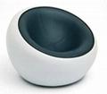Ball chair fiberglass turning leisure