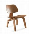 Eames chair coffee table set living room