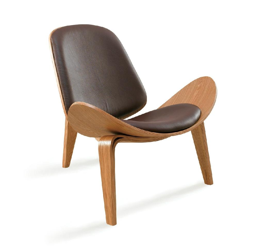 solid wood chair shell chair designer chair living room