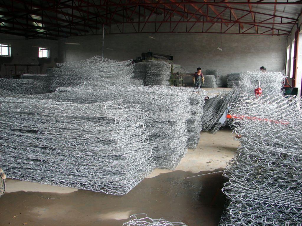 5%鋅鋁合金石籠網箱 1
