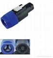 XLR connector for Loudspeaker and