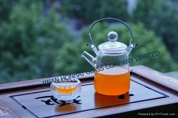 borosilicate glass teaware 1