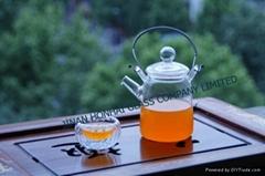 borosilicate glass teaware