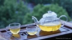 heat-resistant glass teaware