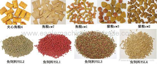 Jinan Eagle company offer Floating Fish feed Pellet Extruder