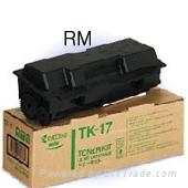Toner for Kyocera mita TK17/18