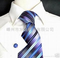 100%真絲提花領帶