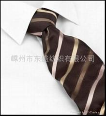 滌絲提花領帶