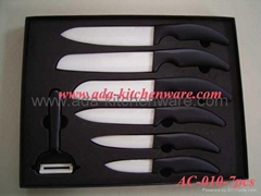 Ceramic Knife Set with Gift Box Packing