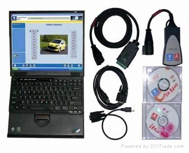 Lexia-3 Citroen/Peugeot Diagnostic (New version) 1