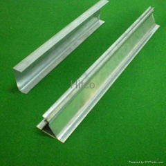Suspended Ceiling Galvanized Spring Tee Bar For Aluminum Board