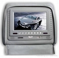 """Head-Rest DVD Player with 7"""" screen (9"""